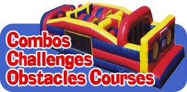 Combos, Challenges, Obstacle Courses & Slip-n-Slides